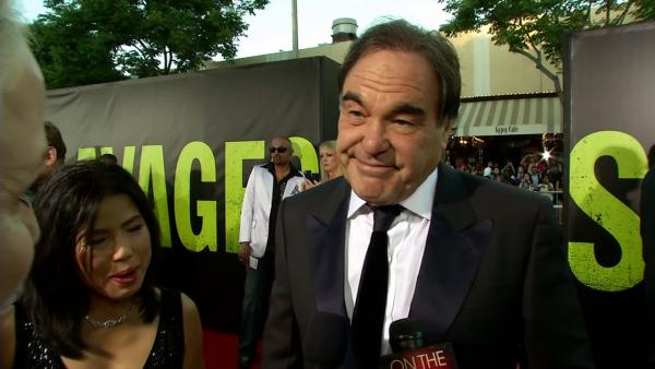 Oliver Stone talks to OnTheRedCarpet.com at the premiere of his film Savages in Los Angeles on June 25, 2012. - Provided courtesy of OTRC