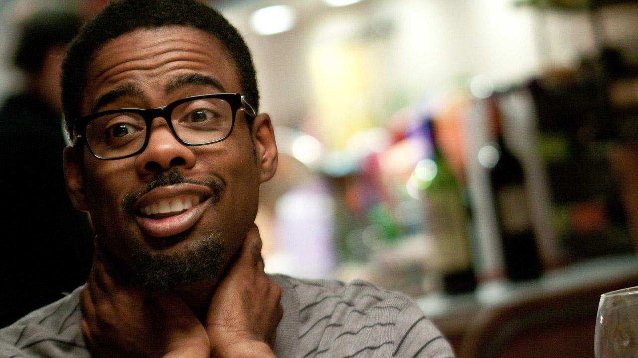Chris Rock appears in a scene from the 2012 movie 2 Days In New York.