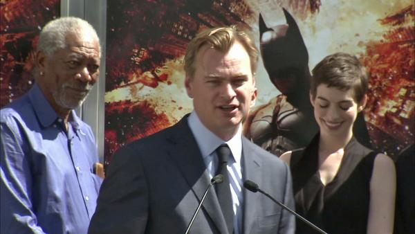 Chris Nolan honored at Grauman's Chinese Theatre