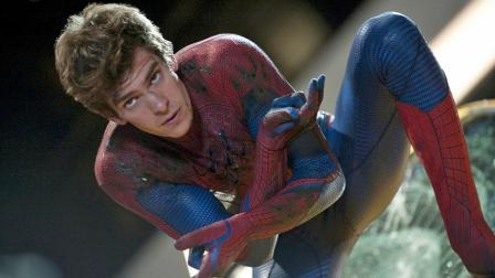 Andrew Garfield appears in a scene from the 2012 film The Amazing Spider-Man.