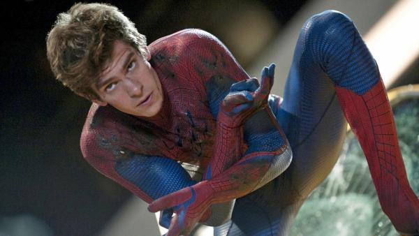Andrew Garfield appears in a scene from the 2012 film The Amazing Spider-Man. - Provided courtesy of Columbia Pictures