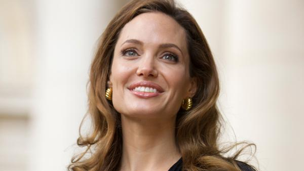 Actress Angelina Jolie arrives to meet government ministers ahead of a screening of her new film In the Land of Blood and Honey at the Foreign Commonwealth Office (FCO) in London, on Tuesday May 29, 2012. - Provided courtesy of AP / Dan Kitwood