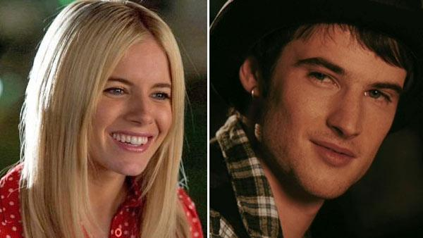 Sienna  Miller in a scene from the film 'The Mysteries of Pittsburgh.' / Tom Sturridge appears in a still from the 2010 film, 'Waiting for Forever.'