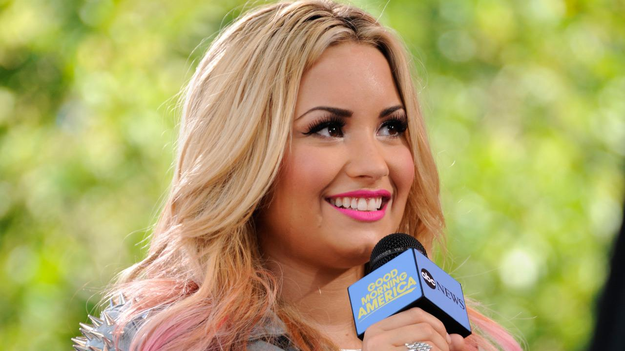 Demi Lovato performs live from Central Park in New York City on Good Morning America, on July 6, 2012, airing on the ABC Television Network. <span class=meta>(Donna Svennevik)</span>