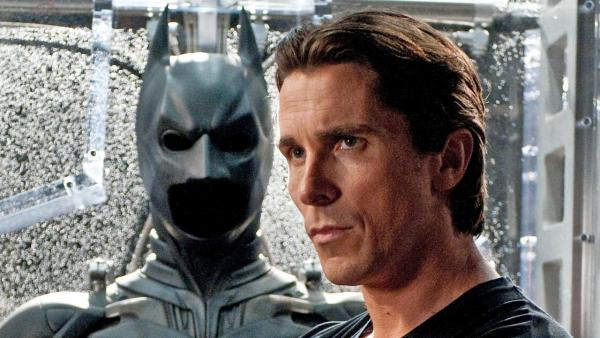 Christian Bale appears in a scene from the 2012 film The Dark Knight Rises. - Provided courtesy of Warner Bros.