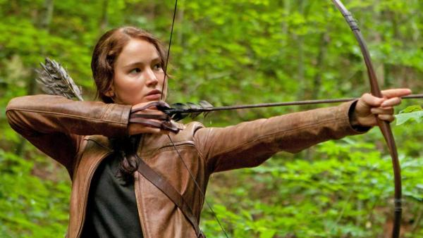 Jennifer Lawrence appears in a scene from the 2011 film The Hunger Games. - Provided courtesy of Lionsgate