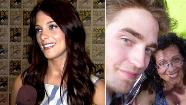 Ashley Greene talks to OnTheRedCarpet.com about wrapping up The Twilight Saga at San Diego Comic-Con on July 21, 2011. / Gisella Gagliardi appears in a photo that was posted on her facebook page from Comic-Con 2010. - Provided courtesy of OTRC / OTRC / Facebook.com