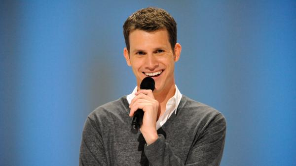 Daniel Tosh appears in a scene from his 2011 standup comedy special, Happy Thoughts. - Provided courtesy of Picture Group /Comedy Central