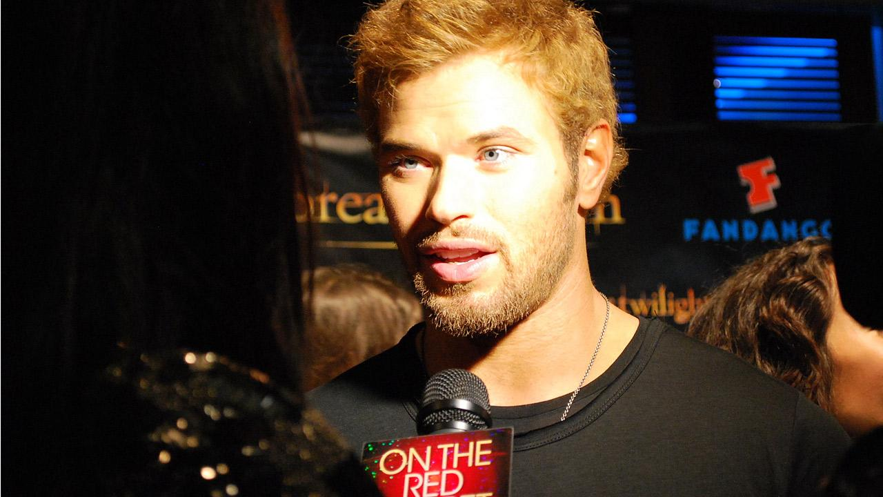 Twilight actor Kellan Lutz appears in a photo at San Diego Comic-Con on Wednesday, July 11, 2012.