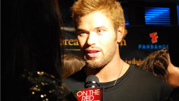 Twilight actor Kellan Lutz appears in a photo at San Diego Comic-Con on Wednesday, July 11, 2012. - Provided courtesy of OTRC