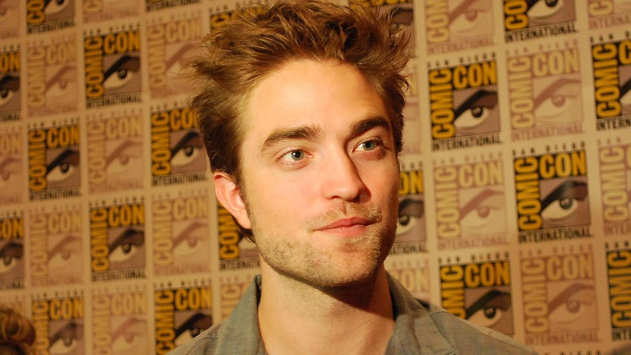 Twilight actor Robert Pattinson  appears in a photo at San Diego Comic-Con on Thursday, July 12, 2012.