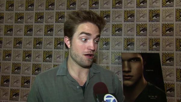 Robert Pattinson of 'Twilight' at Comic-Con
