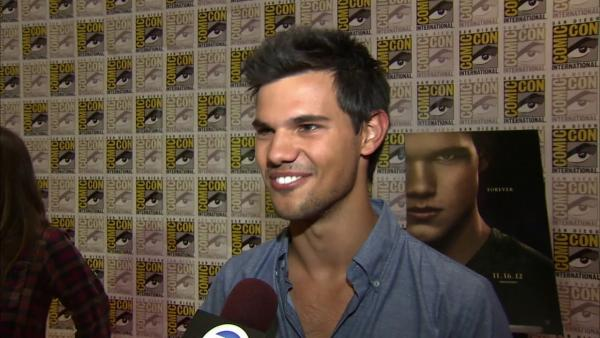 Taylor Lautner talks 'Twilight' at Comic-Con