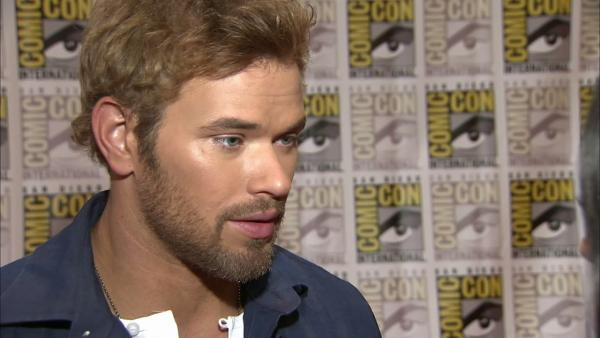 Kellan Lutz talks 'Twilight' at Comic-Con
