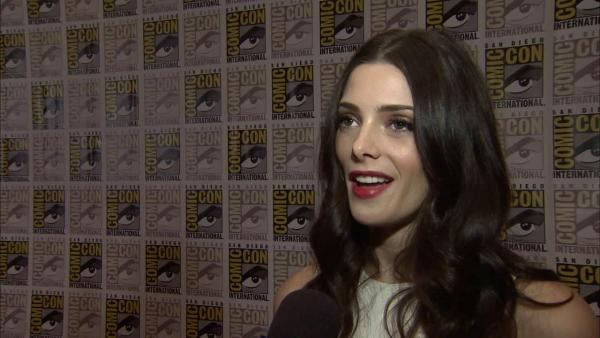 Ashley Greene of 'Twilight' at Comic-Con