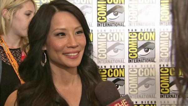 Lucy Liu talks 'Elementary' at Comic-Con