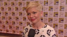 Michelle Williams talks about Oz the Great and Powerful at San Diego on July 13, 2012. - Provided courtesy of none / Disney
