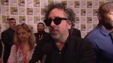 Tim Burton talks about Frankenweenie at San Diego Comic-Con on July 13, 2012. - Provided courtesy of none / Disney