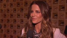 Kate Beckinsale talks about Total Recall at San Diego Comic-Con on July 13, 2012. - Provided courtesy of none / Columbia Pictures