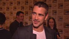 Colin Farrell talks about Total Recall at San Diego Comic-Con on July 13, 2012. - Provided courtesy of none / Columbia Pictures