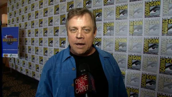 Mark Hamill talks to OnTheRedCarpet.com at San Diego Comic-Con on July 13, 2012.