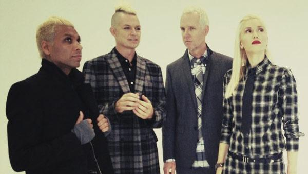 No Doubt appears in a photo posted on the band's official Twitter page on June 21, 2012.