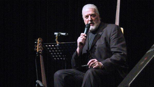 Jon Lord, formerly of Deep Purple, performs at a solo concert in Hannover, Germany on Feb. 9, 2005.
