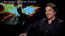 Christian Bale talks to OnTheRedCarpet.com about The Dark Knight Rises in a junket interview on July 9, 2012. - Provided courtesy of OTRC