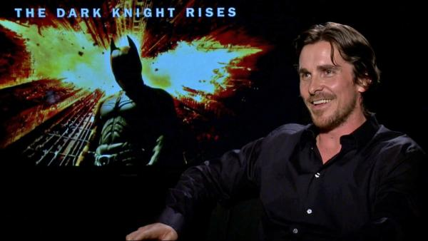 Christian Bale discusses 'The Dark Knight Rises'