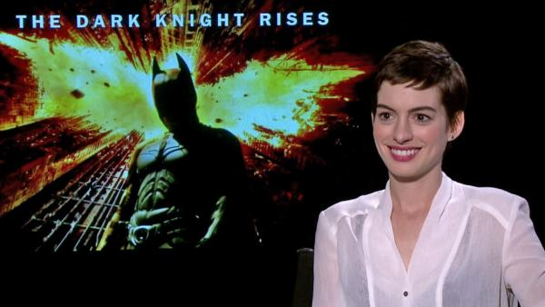 Anne Hathaway on 'The Dark Knight Rises' Catwoman