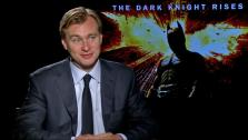 Christopher Nolan talks to OnTheRedCarpet.com about The Dark Knight Rises in a junket interview on July 9, 2012. - Provided courtesy of OTRC