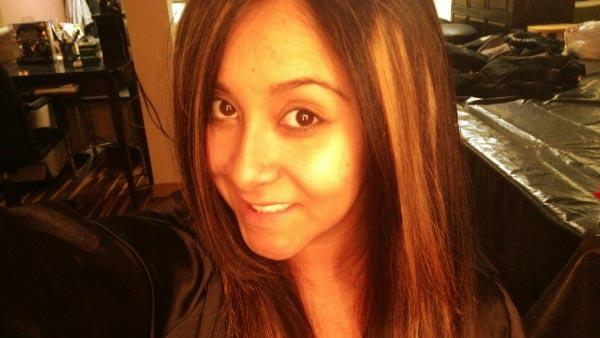 Snooki appears in a photo she Tweeted on July 16, 2012.