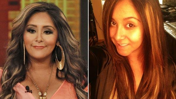 Snooki appears on The View on June 20, 2012. The reality star appears in a photo she Tweeted on July 16, 2012. - Provided courtesy of ABC / Twitter.com/Snooki