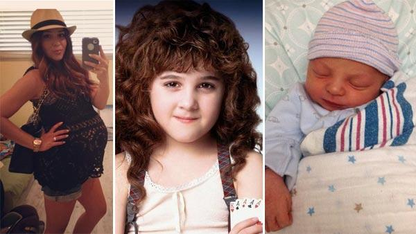 Right and left: Alisan Porter appears in photos posted on her Twitter page following her March 10, 2012 wedding. / Center: Alisan Porter appears in a scene from the 1991 movie Curly Sue. - Provided courtesy of twitter.com/alisanporter / Warner Bros. Pictures