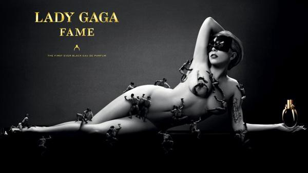 Lady Gaga appears in a promotional photo for her Fame perfume, posted online on July 18, 2012. - Provided courtesy of Twitter.com/LadyGaga