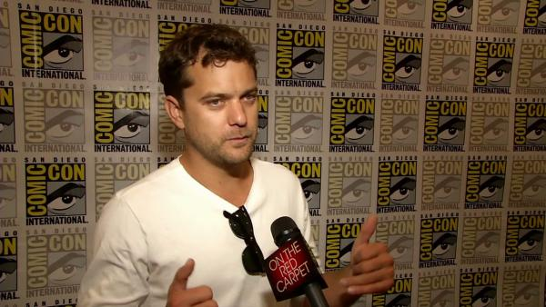 Joshua Jackson talks 'Fringe' at Comic-Con