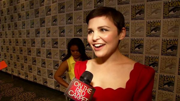 Ginnifer Goodwin talks 'Once' at Comic-Con