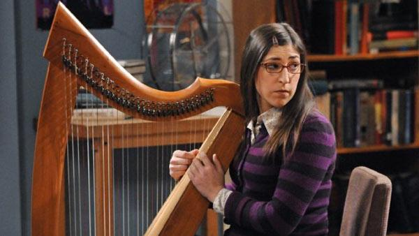 Mayim Bialik appears in a scene from the CBS series 'The Big Bang Theory' in 2012.