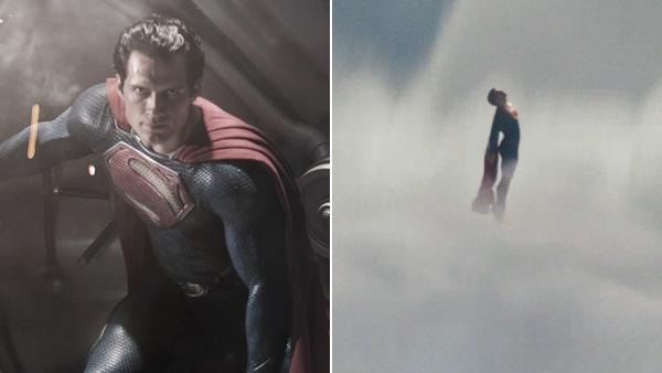 Hendry Cavill appears as Superman in a scene from the 2013 movie Man of Steel, as seen in this image released by Warner Bros. Pictured on Aug. 4, 2011. /  A scene from the Man of Steel teaser trailer. - Provided courtesy of Warner Bros. Pictures