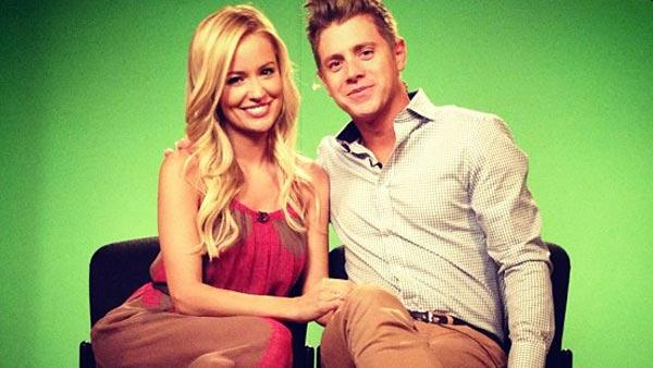 Emily Maynard and Jef Holm appears in a photo posted on Maynards officia Instagram page on July 23, 2012. - Provided courtesy of instagr.am/p/NbDz1rJChg/