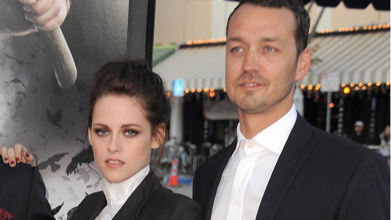 Actress Kristen Stewart and director Rupert Sanders attend the Snow White and the Huntsman screening on Tuesday, May 29, 2012 in Los Angeles.
