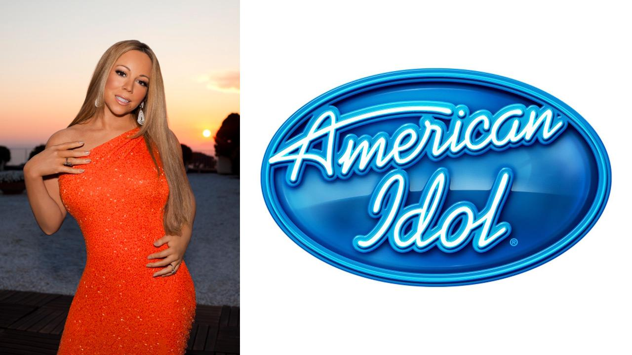 Mariah Carey appears in an official cast photo for American Idols 12th season, which premieres in January 2013.