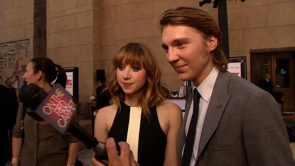 Paul Dano and Zoe Karan talk real life romance