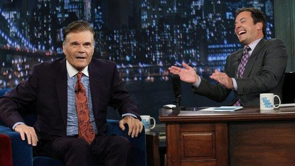 Fred Willard appears in an interview on Late Night with Jimmy Fallon on July 26, 2012. - Provided courtesy of NBC