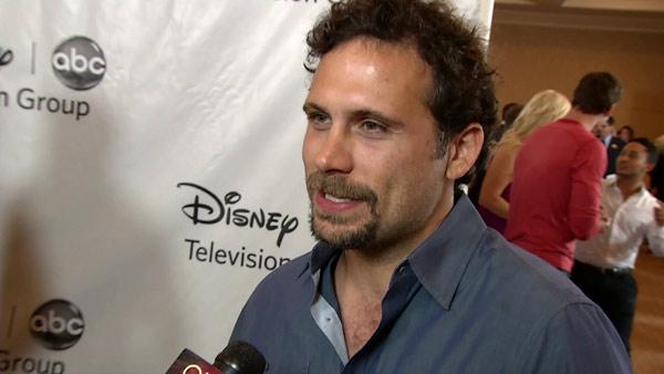 Jeremy Sisto talks to OnTheRedCarpet.com at ABC's Television Critics Association party on July 27, 2012.