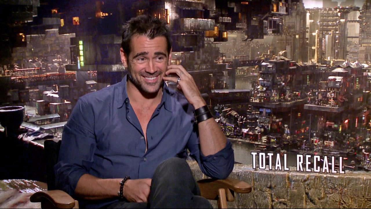 Colin Farrell talks to OnTheRedCarpet.com about Total Recall in a July 2012 press junket for the film.
