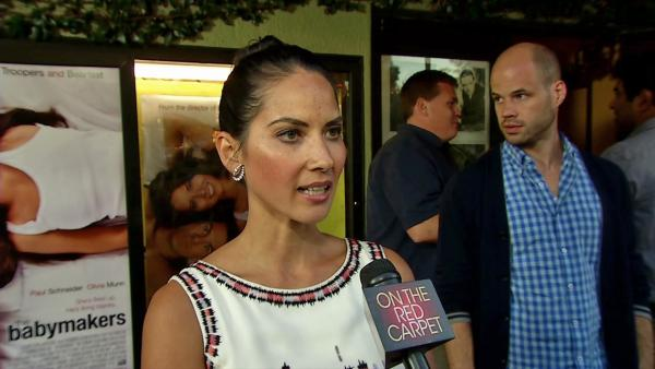 Olivia Munn on the touchy subject matter of 'The Babymakers'
