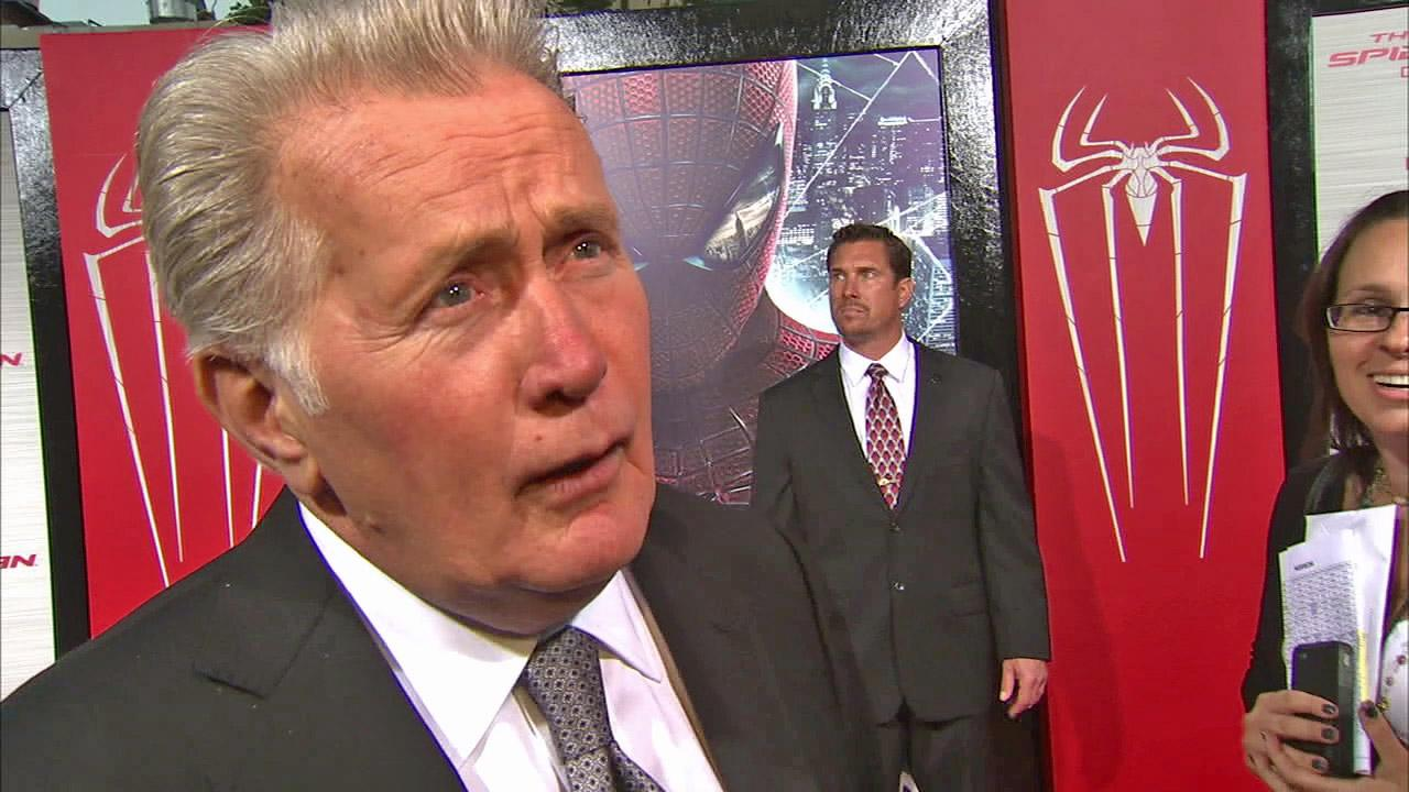 Martin Sheen appears in a June 28 interview with OnTheRedCarpet.com at the premiere of Spiderman. <span class=meta>(OTRC)</span>