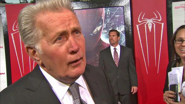 Martin Sheen appears in a June 28 interview with OnTheRedCarpet.com at the premiere of 'Spiderman.'