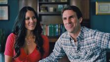 Olivia Munn and Paul Schneider appear in a still from The Babymakers. - Provided courtesy of OTRC